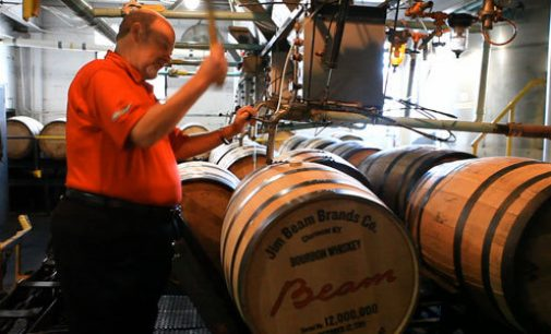 Beam Reaches Major Milestone in Bourbon