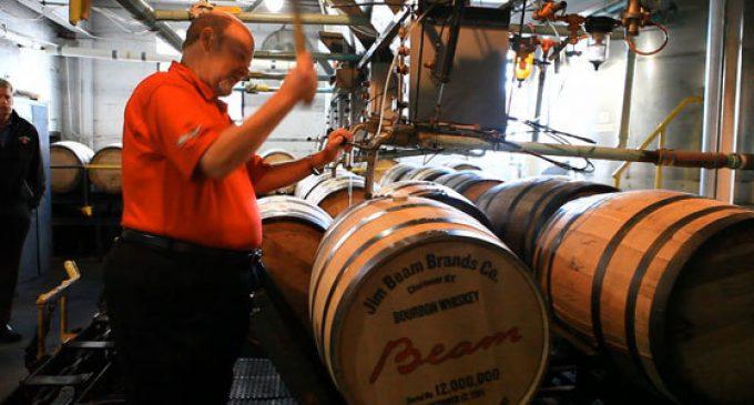 Beam Reaches Major Milestone in Bourbon