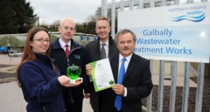 NI Water picks up top environment award