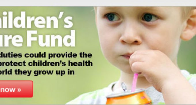 Call For a Sugary Drinks Duty in UK Budget 2013