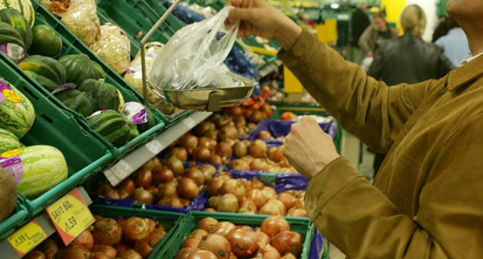 Rotten Market For Fruit and Vegetables in the UK