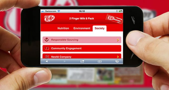 Nestlé Empowers Consumers With New Digital Labelling Scheme