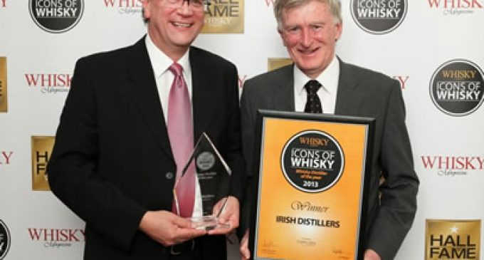 Success For Irish Distillers at Whisky Awards