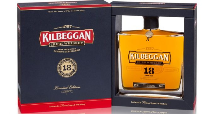 Kilbeggan® 18YO is World's Best Blended Irish Whiskey