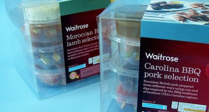 Staeger Clear Packaging assists Waitrose for new BBQ range