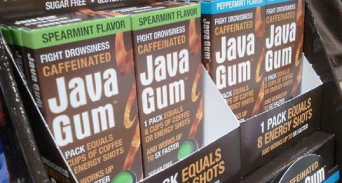 Java Gum pairs caffeine kick with blissful breath