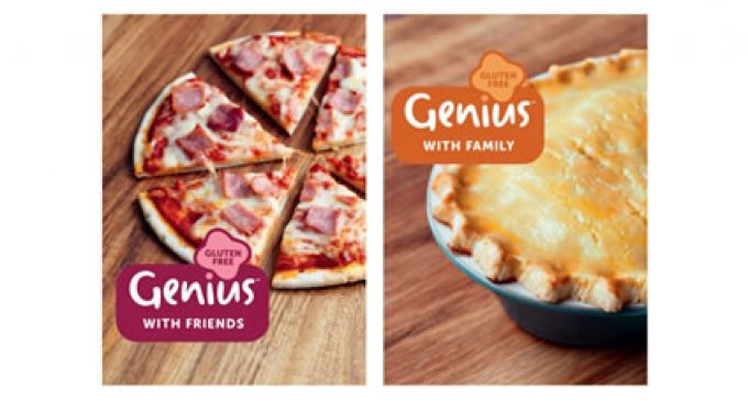 Pearlfisher London creates the new brand identity for Genius – the UK's leading gluten – free brand