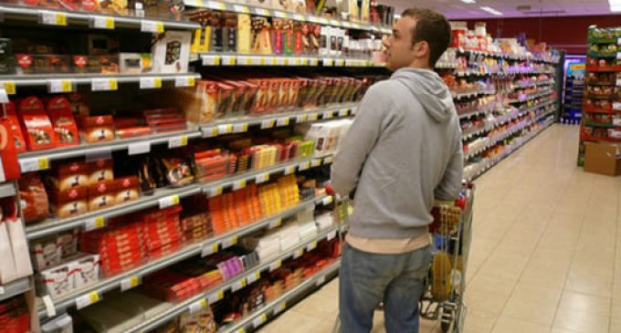Which country has the largest confectionery aisles?