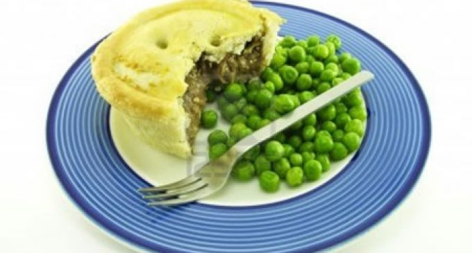 Harper Adams green meat pie scoops award
