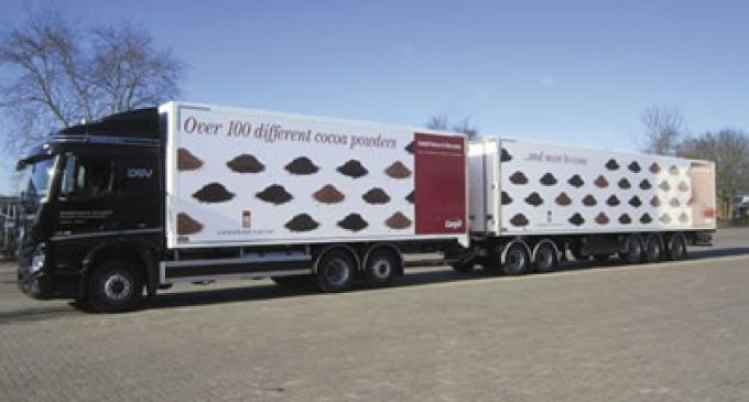 Cargill's New Vehicles Cut CO2 Emissions For its Cocoa & Chocolate Business