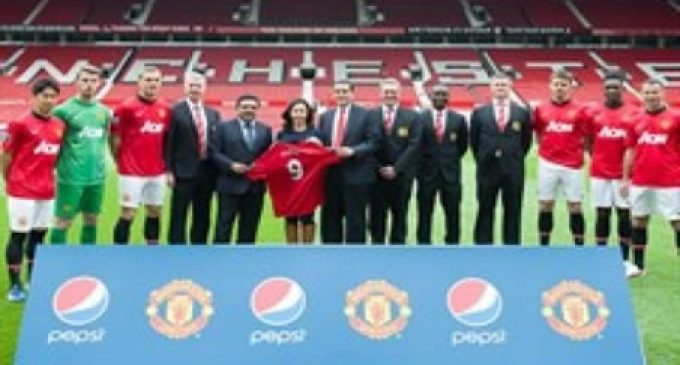 PepsiCo and Manchester United Join Forces in Asia-Pacific
