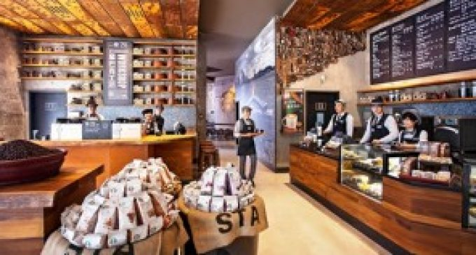 Starbucks opens new design concept stores in China