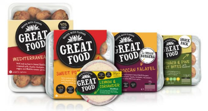 Re-launched Great Food packs created by Slice