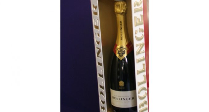 PPS produces luxurious Bollinger gift box
