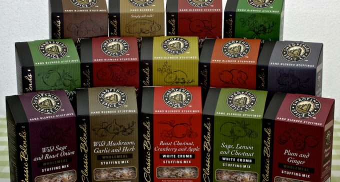 Shropshire Spice Co turns to Quantum for reverse-printed packs