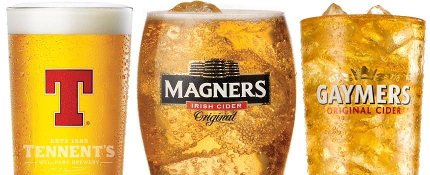 Strong Beer Brands uk Branded Cider And Beer