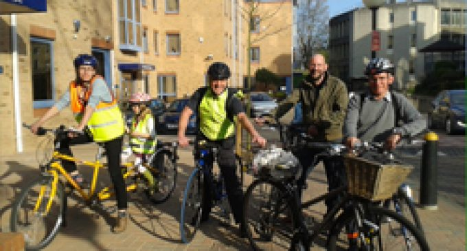 CAD Team's Low-carbon Commute Raises Charity Cash