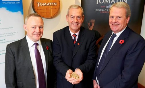 Tomatin Distillery Reduces its Carbon Emissions by Over 80%