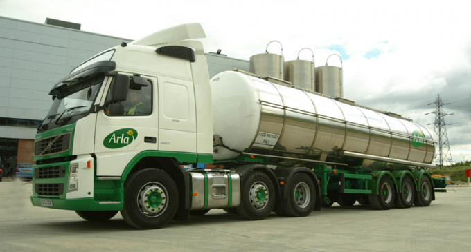 Arla Foods Expands UK Milk Pool