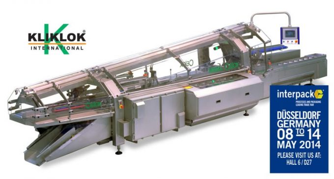 Kliklok Showcases Cartoning Equipment at Interpack 2014