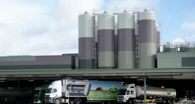 £150 Million Fresh Milk Dairy Officially Opened