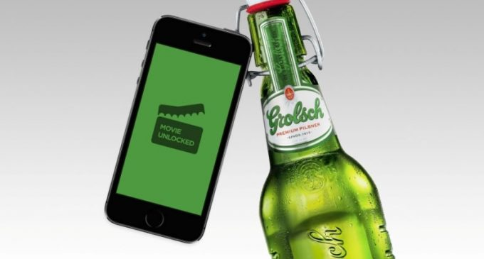 Bluetooth Technology Developed For Grolsch Bottles to Grant Access to Films