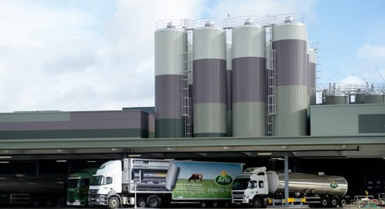 Arla Food Invests a Further £37.5 Million in its UK Sites and Logistics