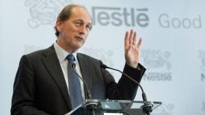 Paul Bulcke, chief executive of Nestlé.
