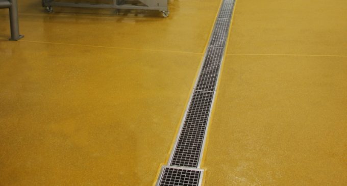Sweet Hygienic Resin Flooring