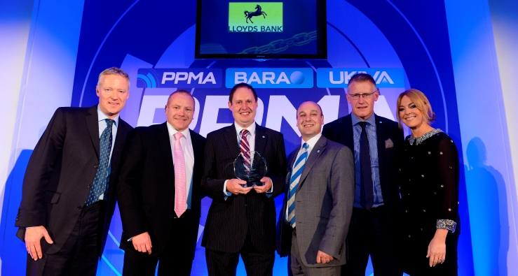 Loma Systems Wins Packaging & Processing Equipment Manufacturer of the Year 2014 at PPMA Awards