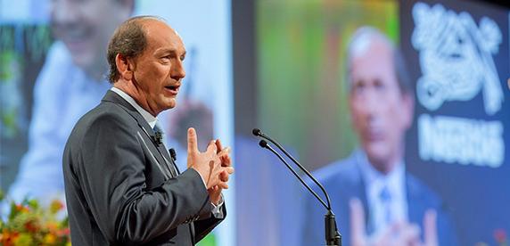 """""""Debt Crisis Was a Values Crisis,"""" says Nestlé Chief"""