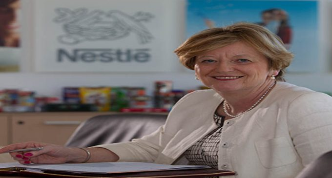 Nestle's Fiona Kendrick Elected FDF President For 2015