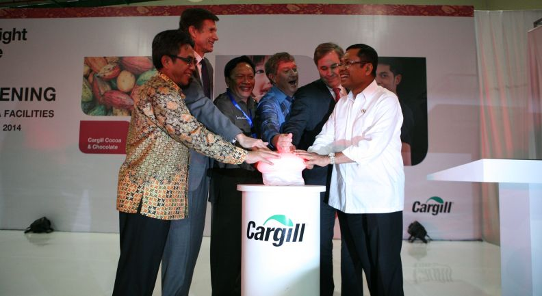 Cargill Opens First Cocoa Processing Facility in Asia
