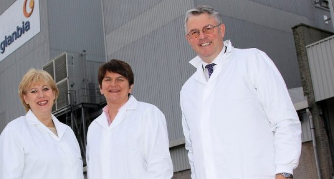 Glanbia Ingredients Ireland Opens New Milk Protein Plant