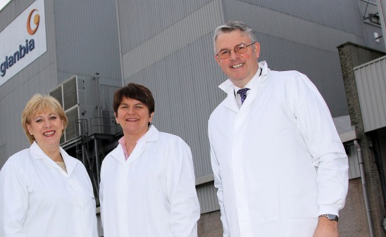Glanbia Ingredients Ireland Opens New Milk Protein Plant