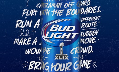 Pearlfisher Partners With Bud Light to Create New Bottle to Celebrate Super Bowl XLIX