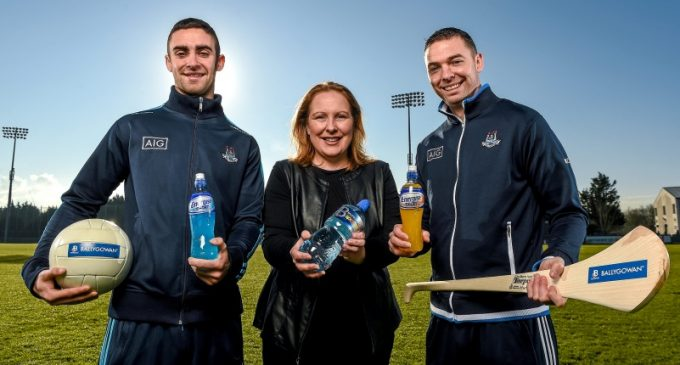 Ballygowan and Energise Sport Are New Hydration Partners of Dublin GAA