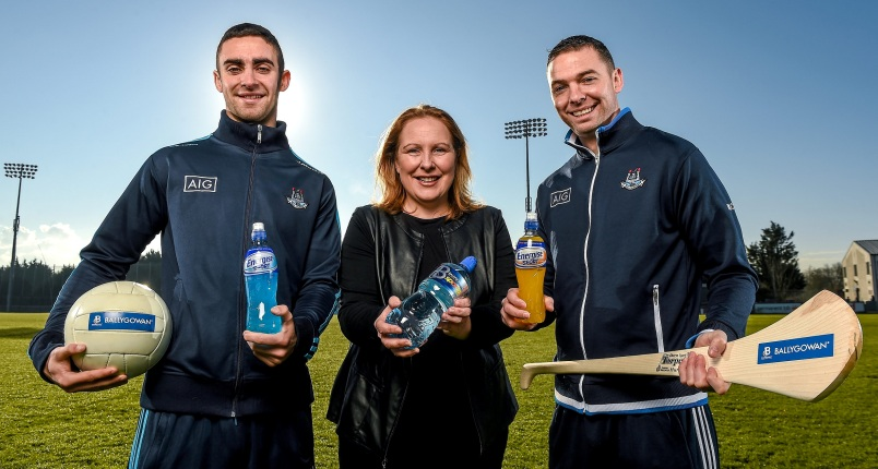 Ballygowan and Energise Sport Are New Hydration Partners of Dublin GAA
