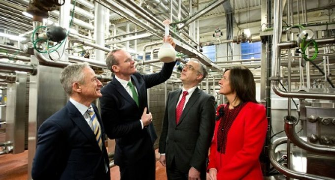 €35 Million Innovation Investment in Irish Dairy Processing Industry