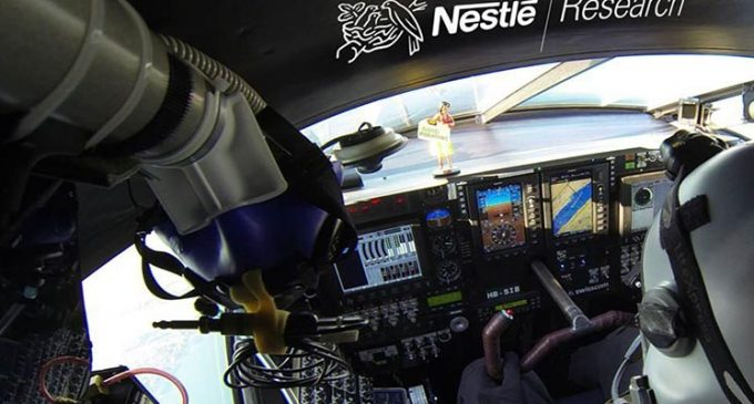 Nestlé to Provide Tailored Food For Round-world Solar Flight Pilots