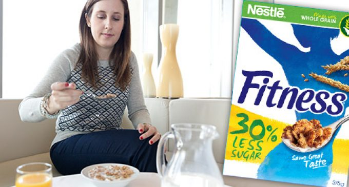 Nestlé to Sell New Fitness Cereal With Less Sugar, More Wheat in Europe