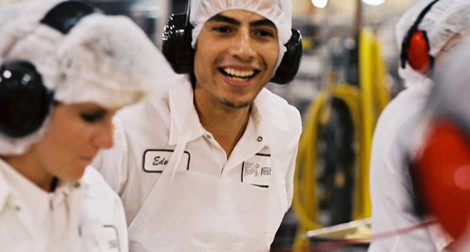 Nestlé Reaffirms Global Youth Employment Commitment