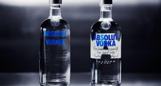 Bottle Redesign For Absolut Vodka