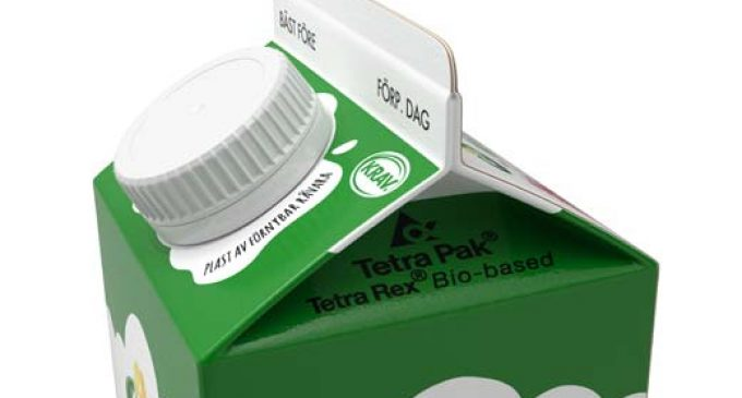 Arla Food Eko Brand Organic Milk Now in ​Tetra Rex® Bio-based