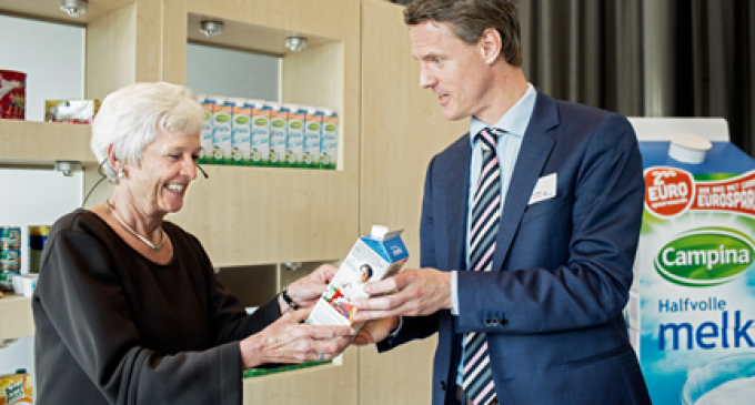 FrieslandCampina and Elopak Setting the Standard with New Bio-based Milk Carton