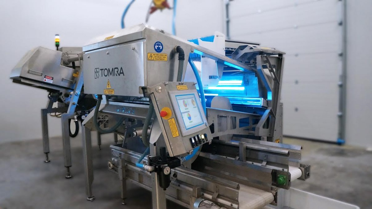 TOMRA Equips its Belgian Test and Demo Center With a New Cold Room