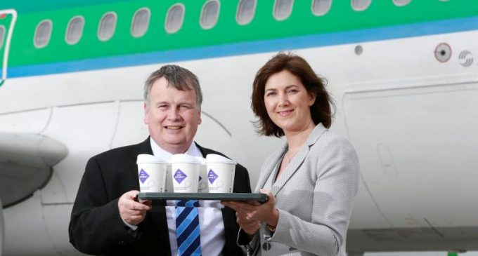 Java Republic and Aer Lingus Bringing on Board Coffee to New Heights