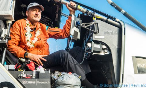 Nestlé Fuels Solar Impulse For Longest Ever Non-stop Solar Flight