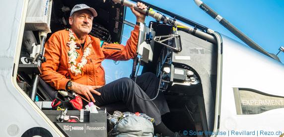 Nestlé Fuels Solar Impulse For Longest Ever Non-stop Solar Flight