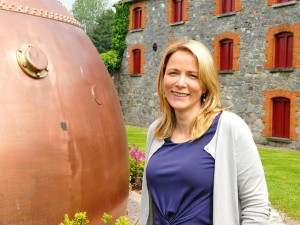 Anna Malmhake, chairman and chief executive of Irish Distillers.